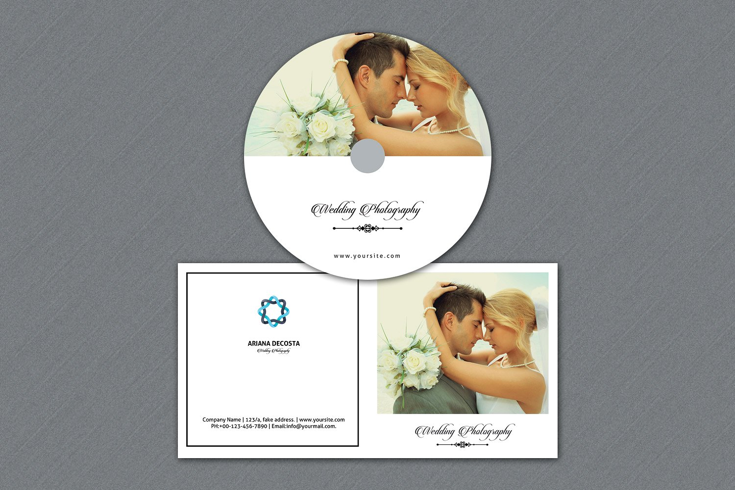 Photographer Disc Label & Cover