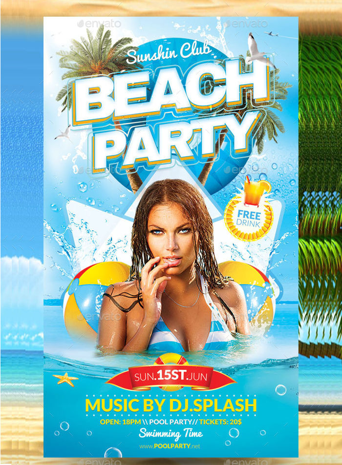 Pool & Beach Party