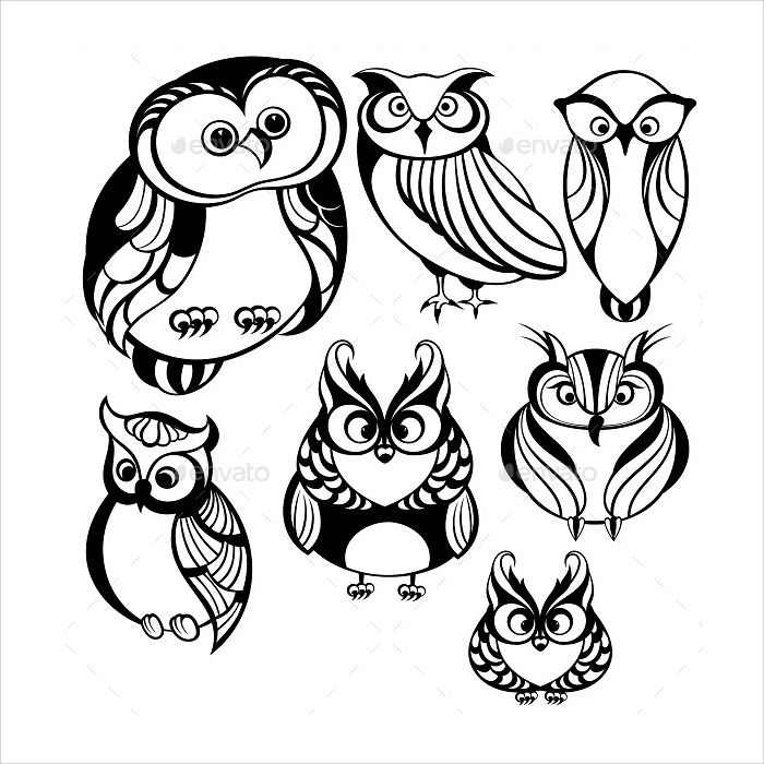 Printable Owl