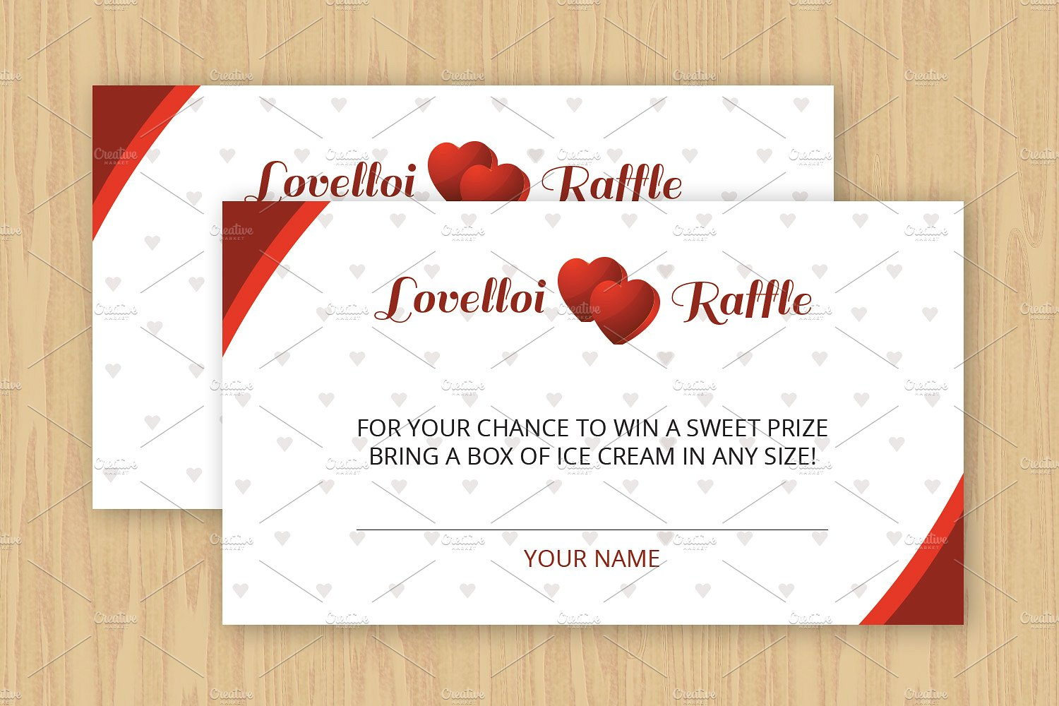 raffle ticket download