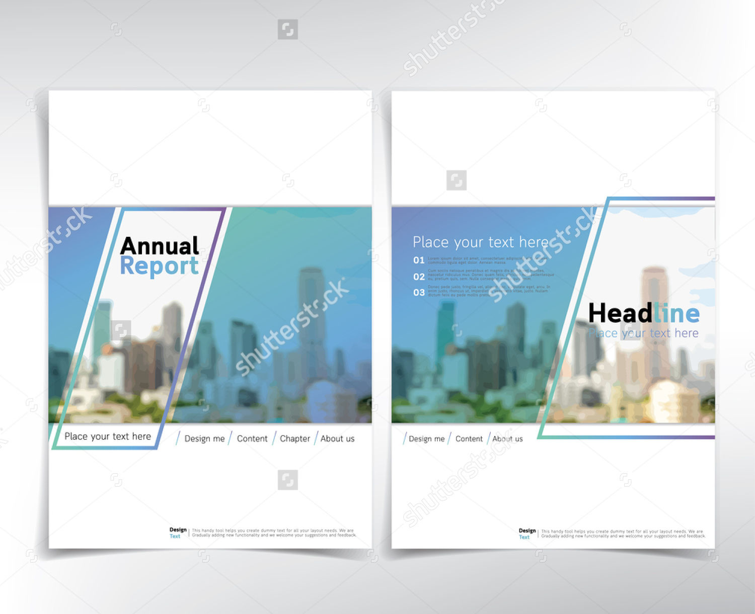 real estate brochure cover page