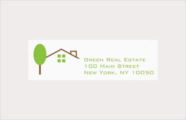real estate business labels