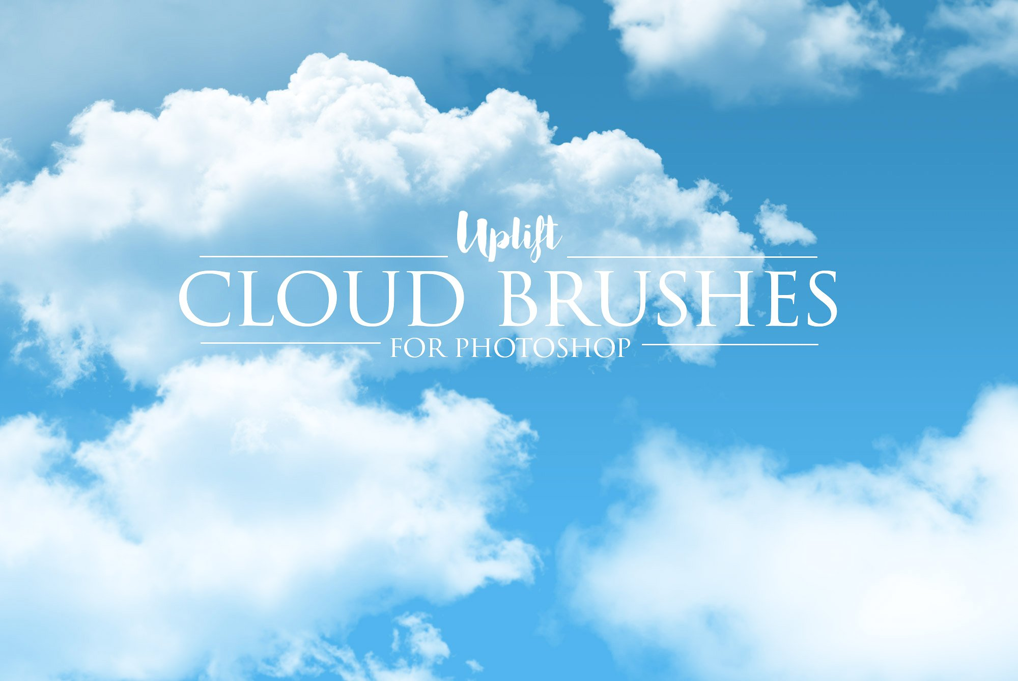 realistic cloud brushes