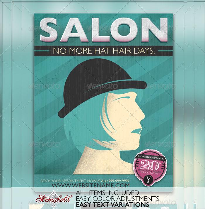 Salon Flyer Design