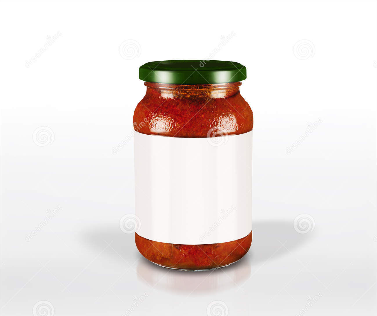 Sauce Jar Label