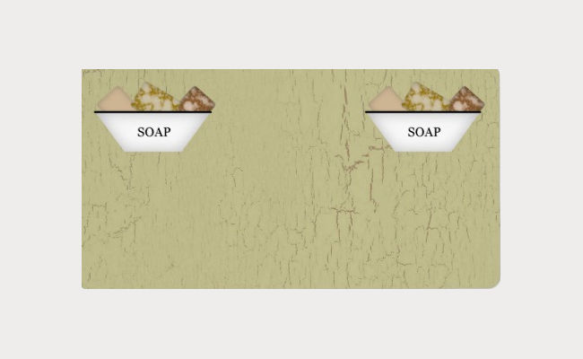 soap product label design