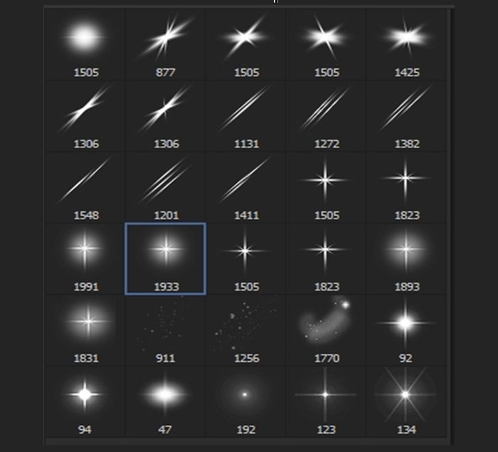 sparkle star ps brushes