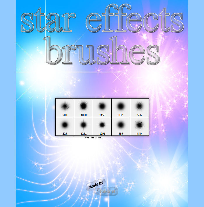 star effect brushes