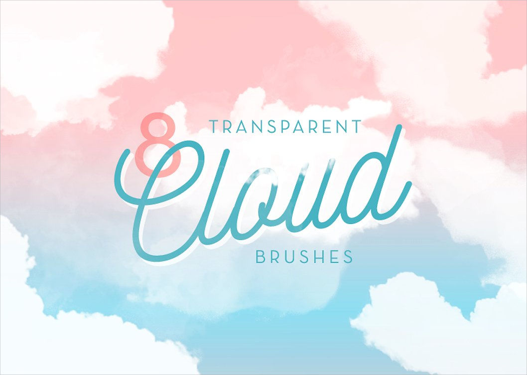 transparent cloud brushes