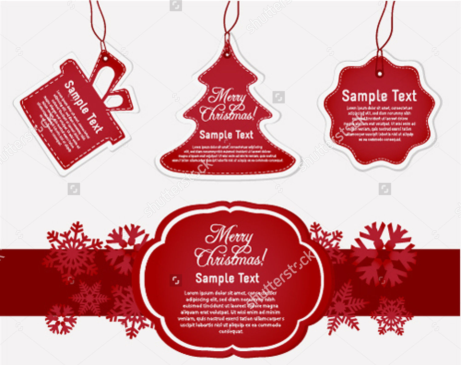 Vector Gift with Label