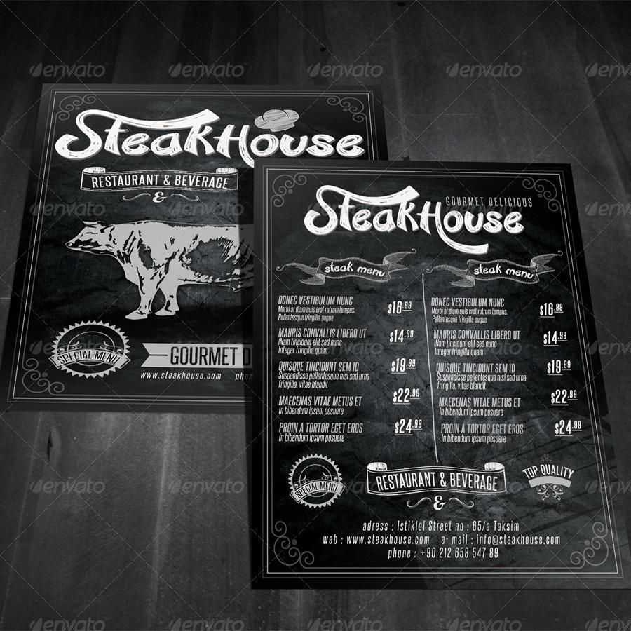 Vintage Restaurant Flyer