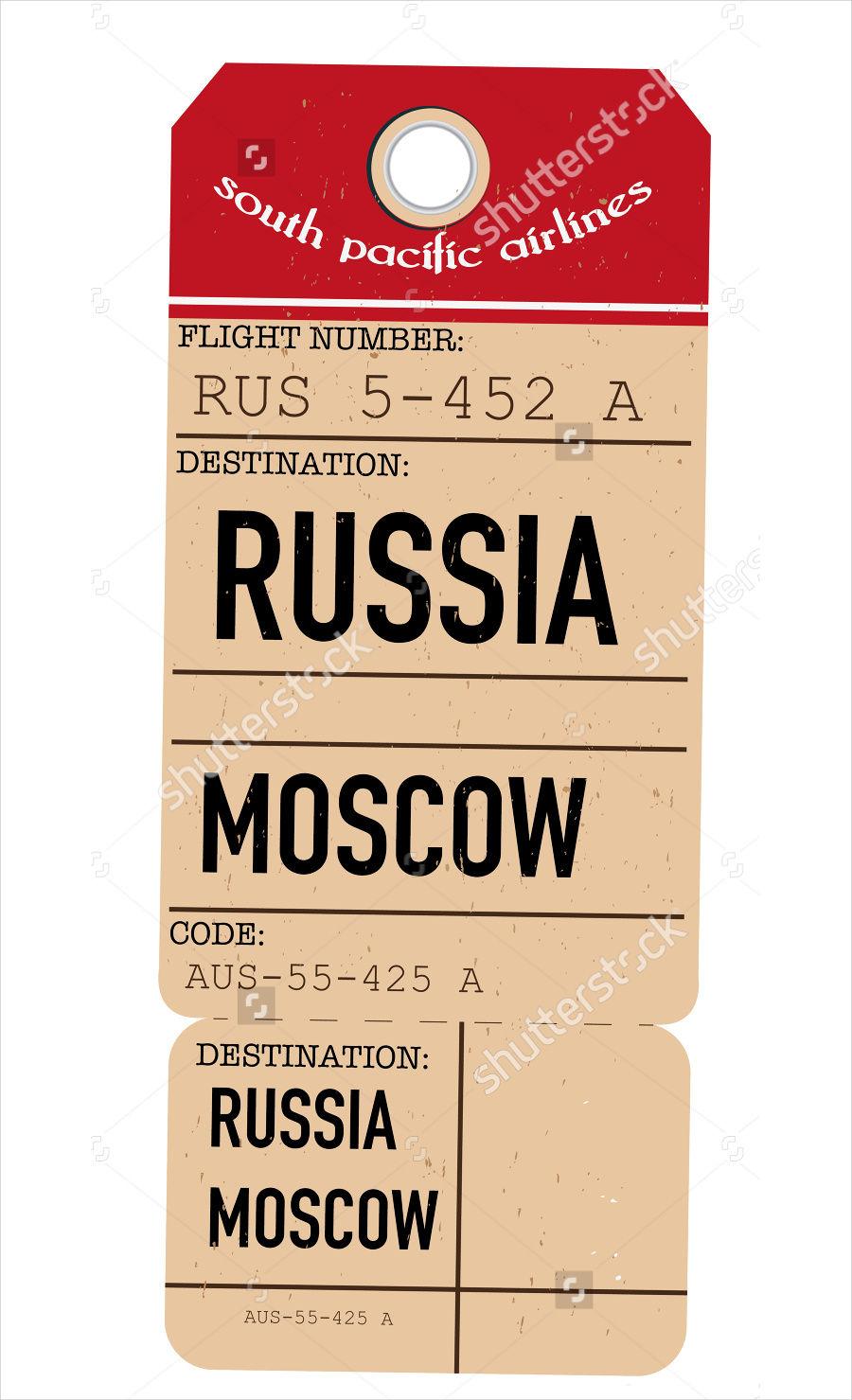 Vintage Travel Ticket
