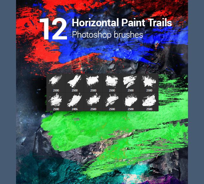 Watercolor Paint Splatter Brushes