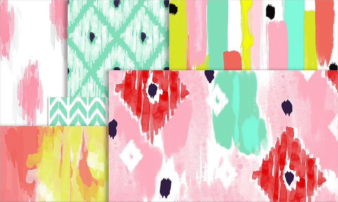 Watercolor Paper Brushes
