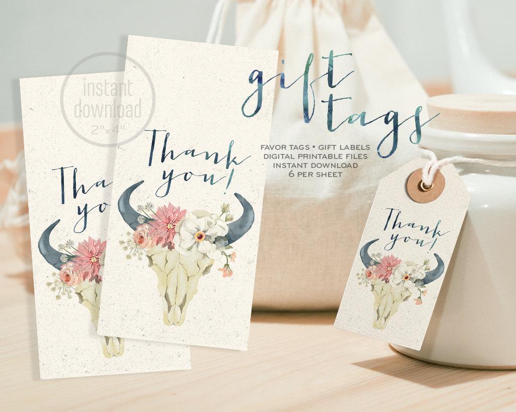 wedding gift label design