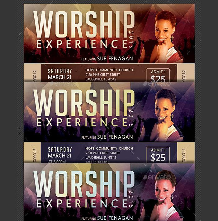 Worship Concert Ticket