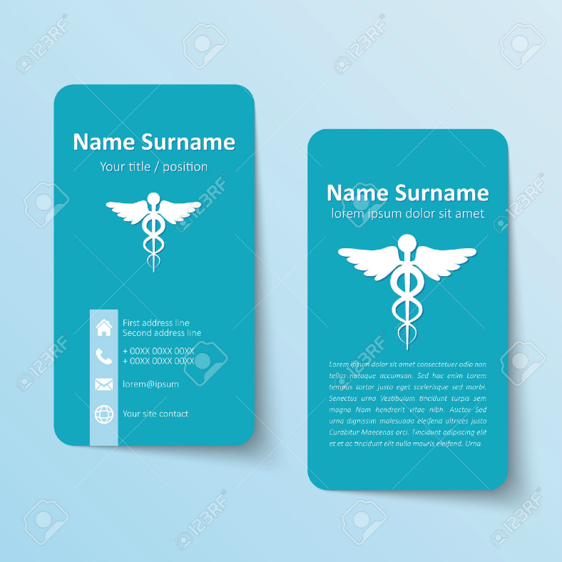 8+ Medical Business Cards | Design Trends - Premium PSD, Vector ...