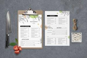 food menu vol