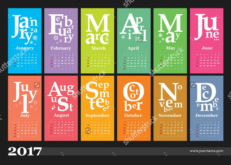 calendar bookmark designs design trends premium psd vector
