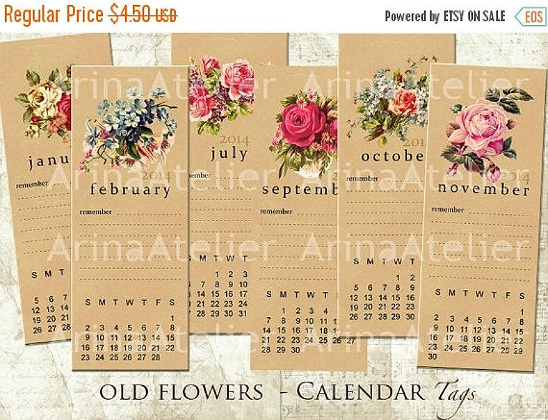 calendar bookmark