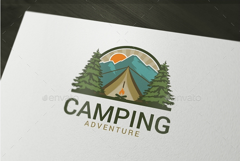16 camping logo designs to celebrate the great outdoors air force logo vector art us air force logo vector