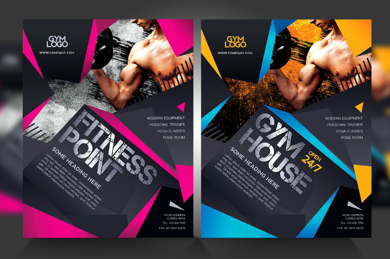 20 gym flyer designs in eps psd ai word design trends