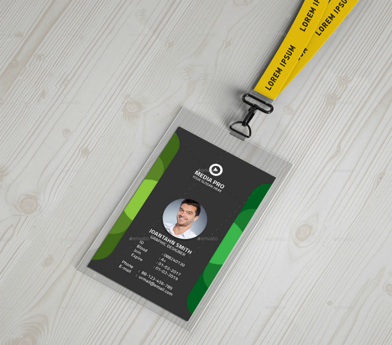 17  editable identification card template designs