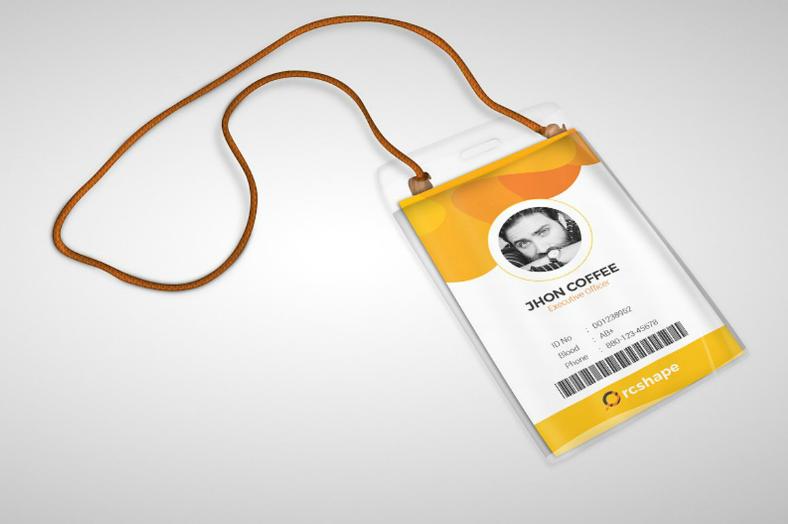 8+ Editable Identification Card Template Designs : Design ...
