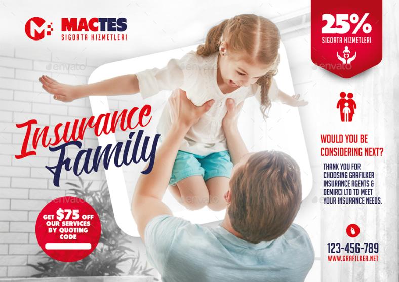 insurance flyer