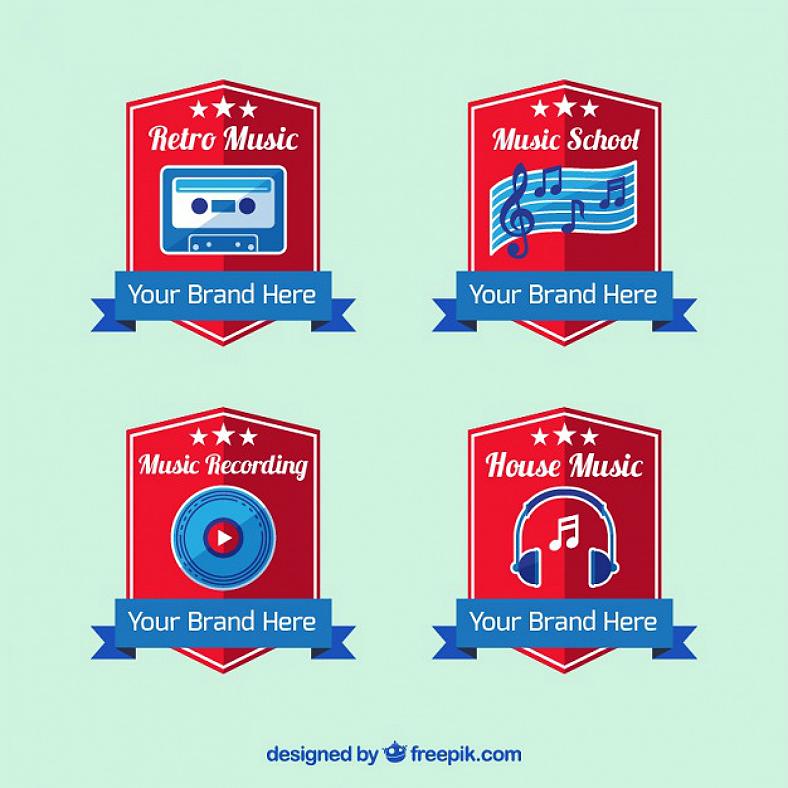 7+ Music Logo Designs | Design Trends - Premium PSD, Vector Downloads