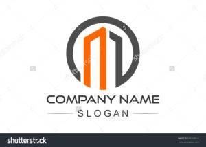 stock vector circular architecture icon symbol letter m logo 559763914 300x214