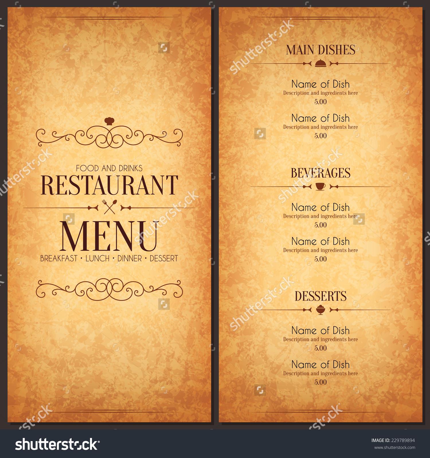 7 food menu designs design trends premium psd vector