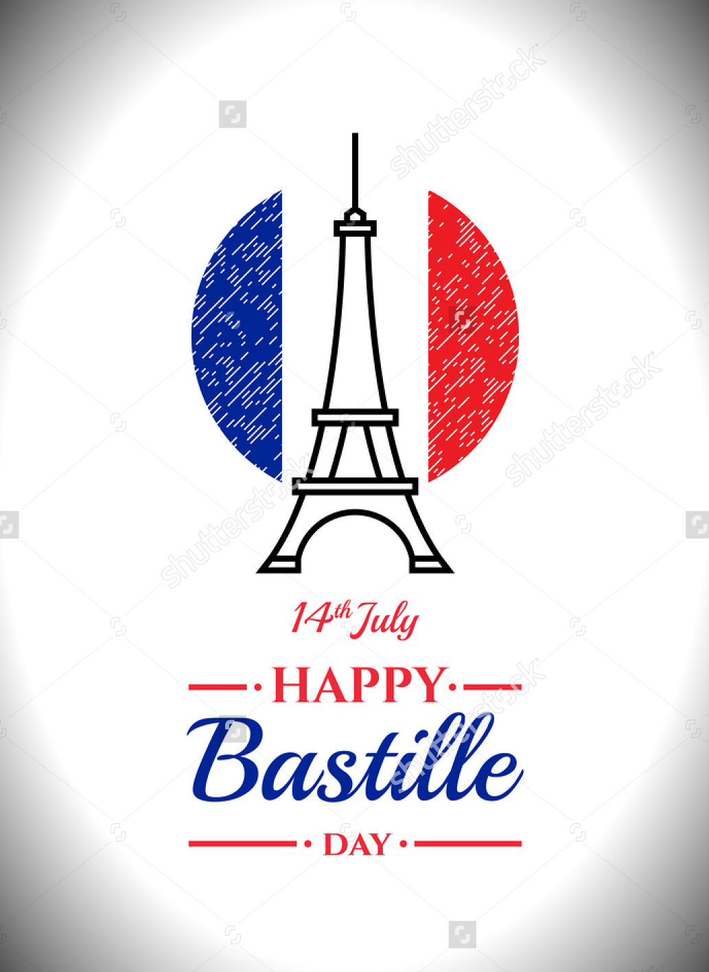 14  bastille day card  flyer  and poster designs