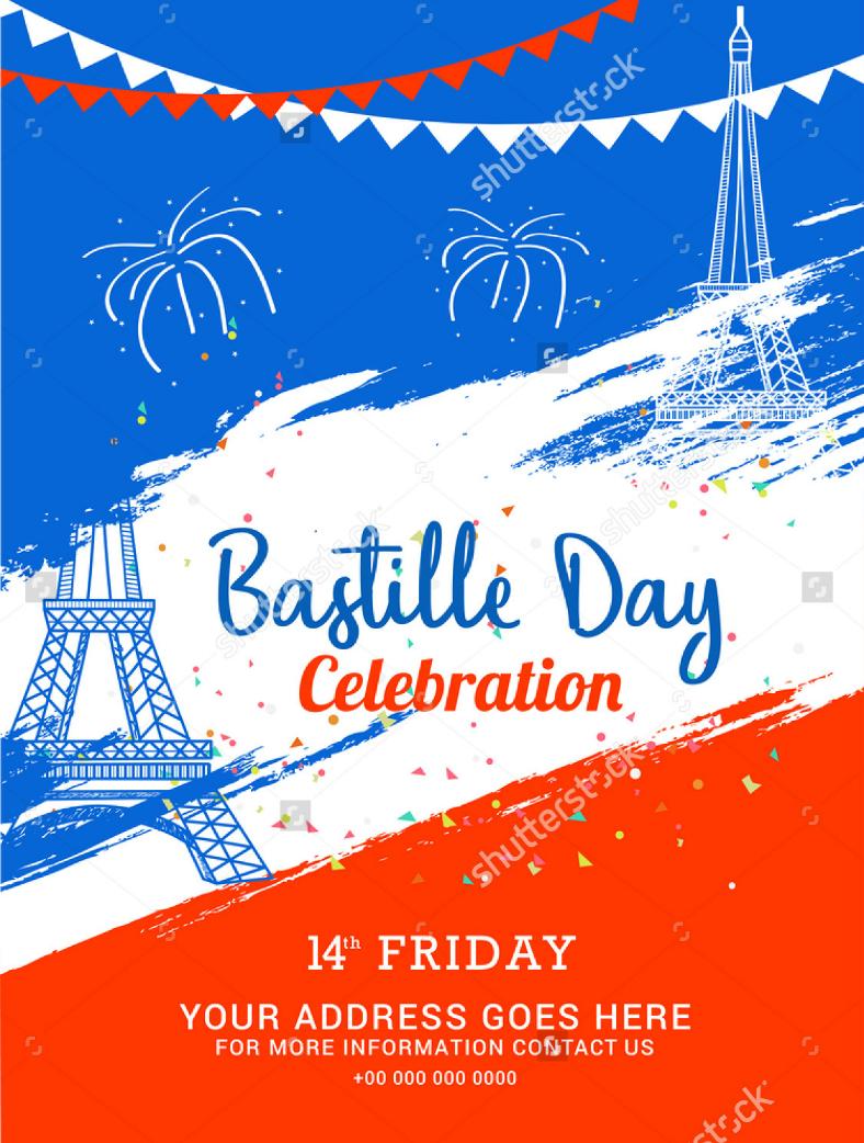 14 bastille day card flyer and poster designs design trends bastille day flyer poster m4hsunfo