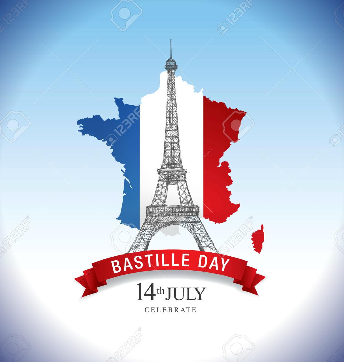 14  bastille day card  flyer  and poster designs