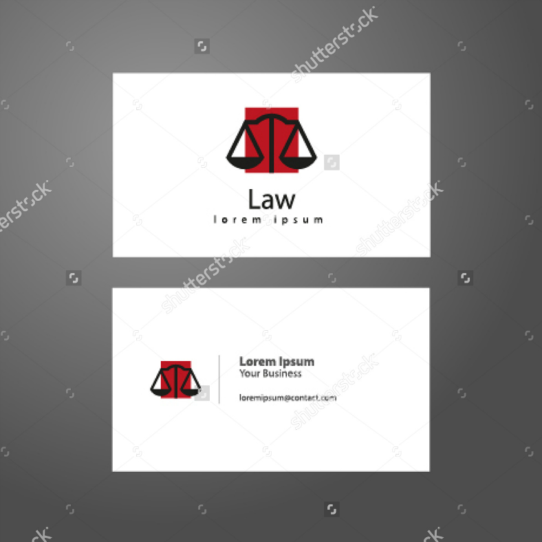 12+ Business Card Designs for Lawyers | Design Trends - Premium PSD ...