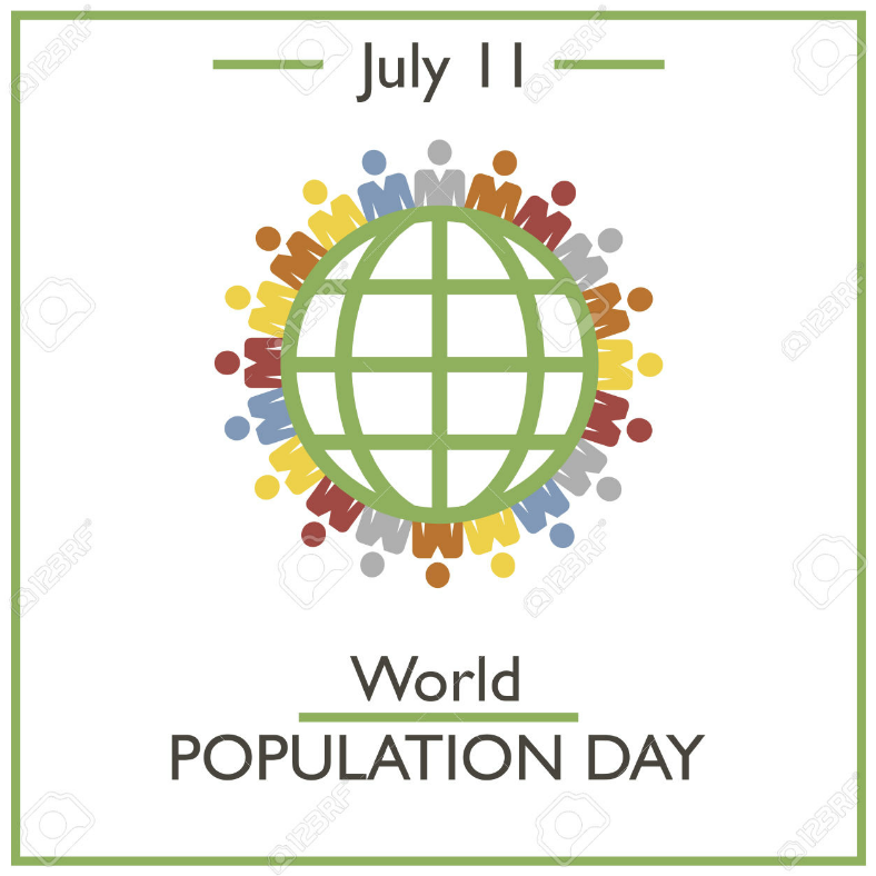 population day vector