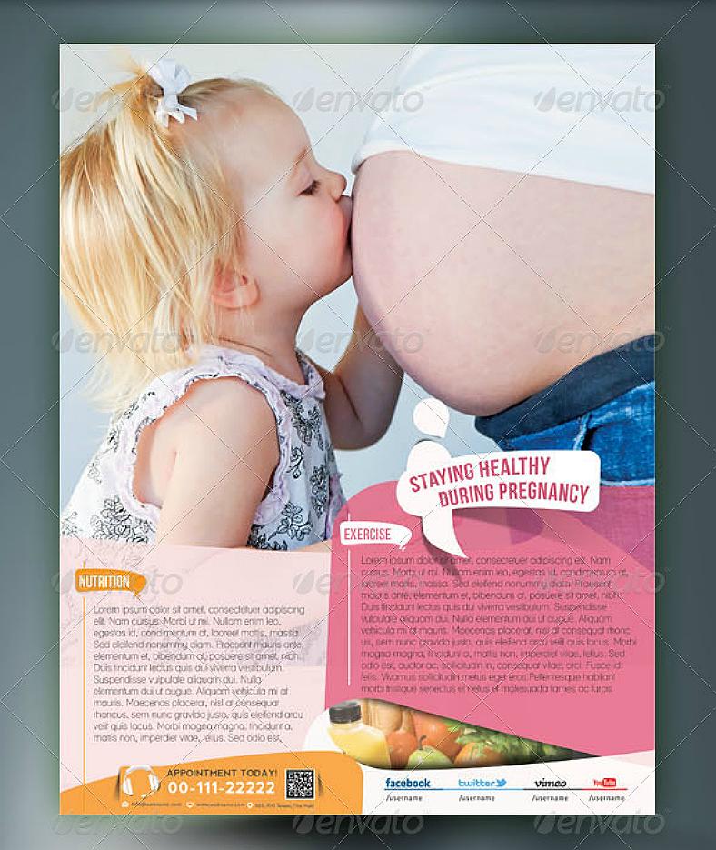 maternal child flyer