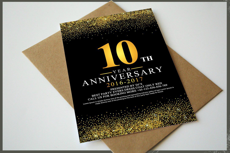 21 anniversary cards list design trends premium psd vector anniversary invitation card stopboris Choice Image