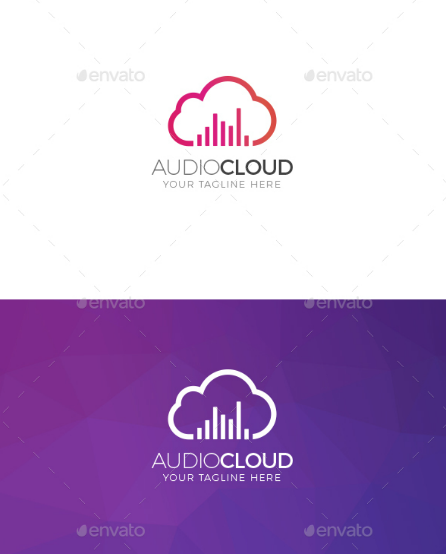 Audio Cloud Logo