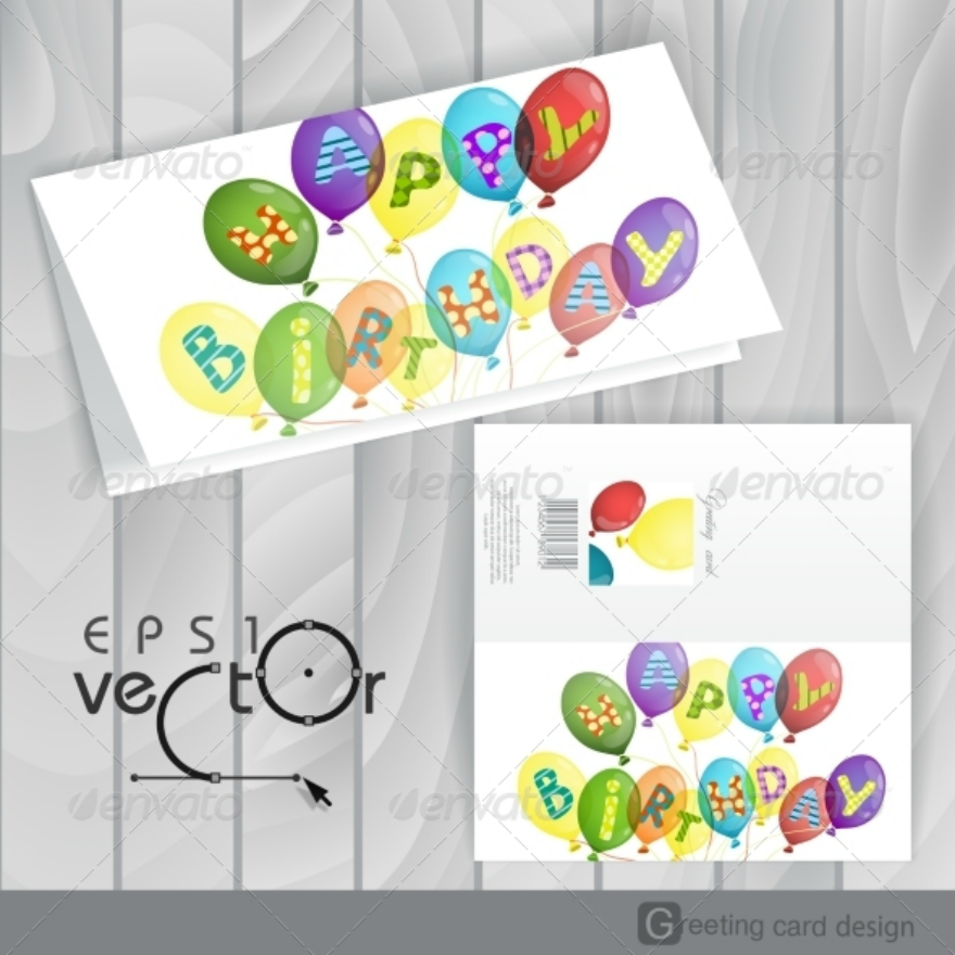 20 Birthday Greeting Cards Design Trends Premium Psd Vector