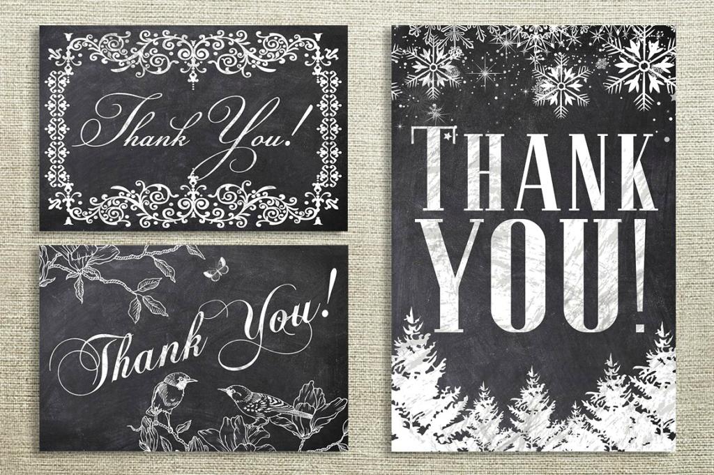 chalk printable thank you cards 1024x681