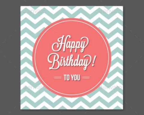 chevron happy birthday card psd 480x381