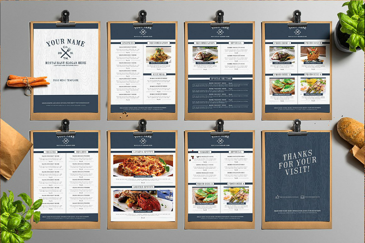 11 Restaurant Menu Card Designs Ai Psd Docs Pages