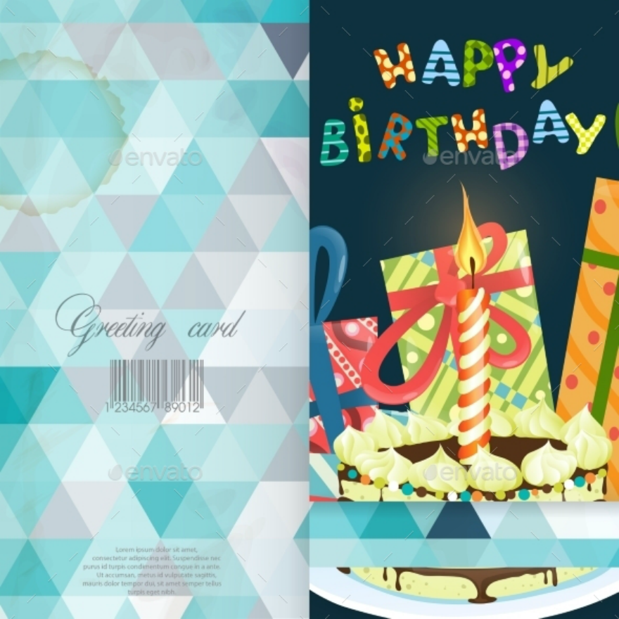 Colorful Greeting Card Design