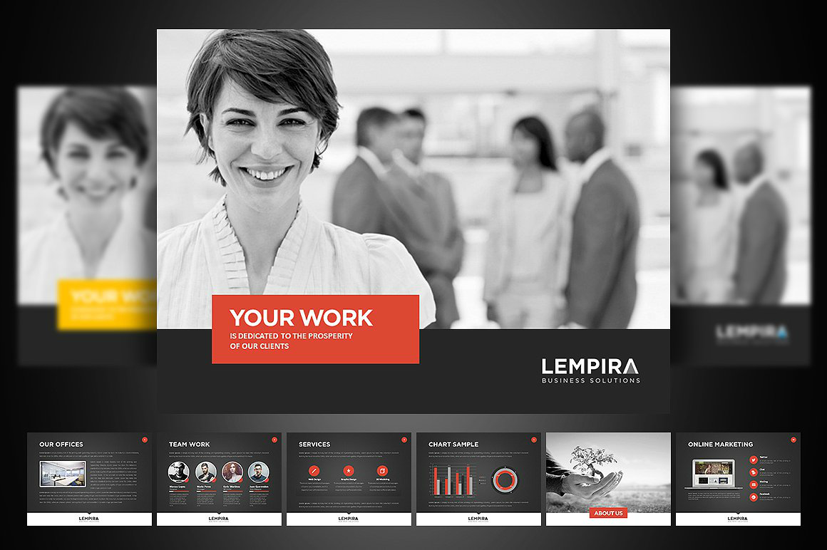 Corporate Labor Day PowerPoint Template