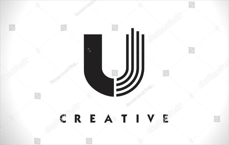 Creative Letter U Logo Design