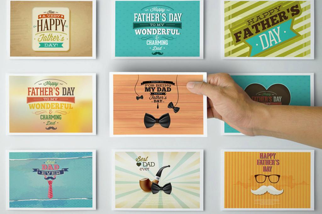 fathers day printable postcard 1024x681