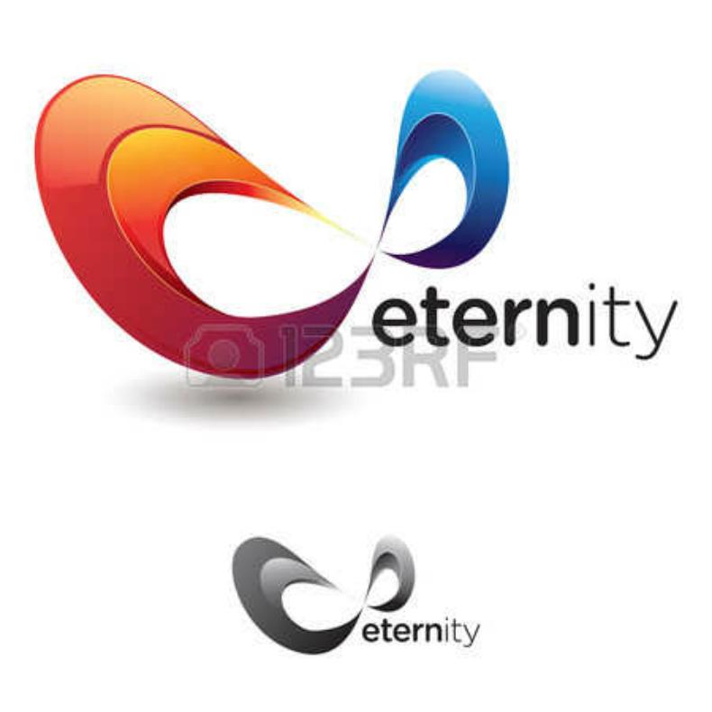 Flashy Infinity Symbol Logo