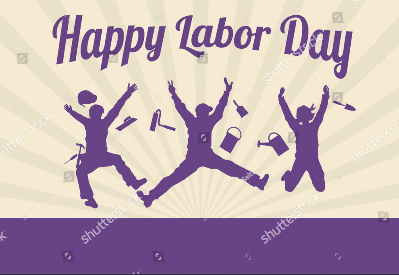happy workers jumping labor day silhouette 1280x882